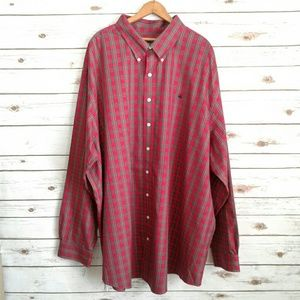 Brooks Brothers Supima Cotton Plaid Shirt 4XL
